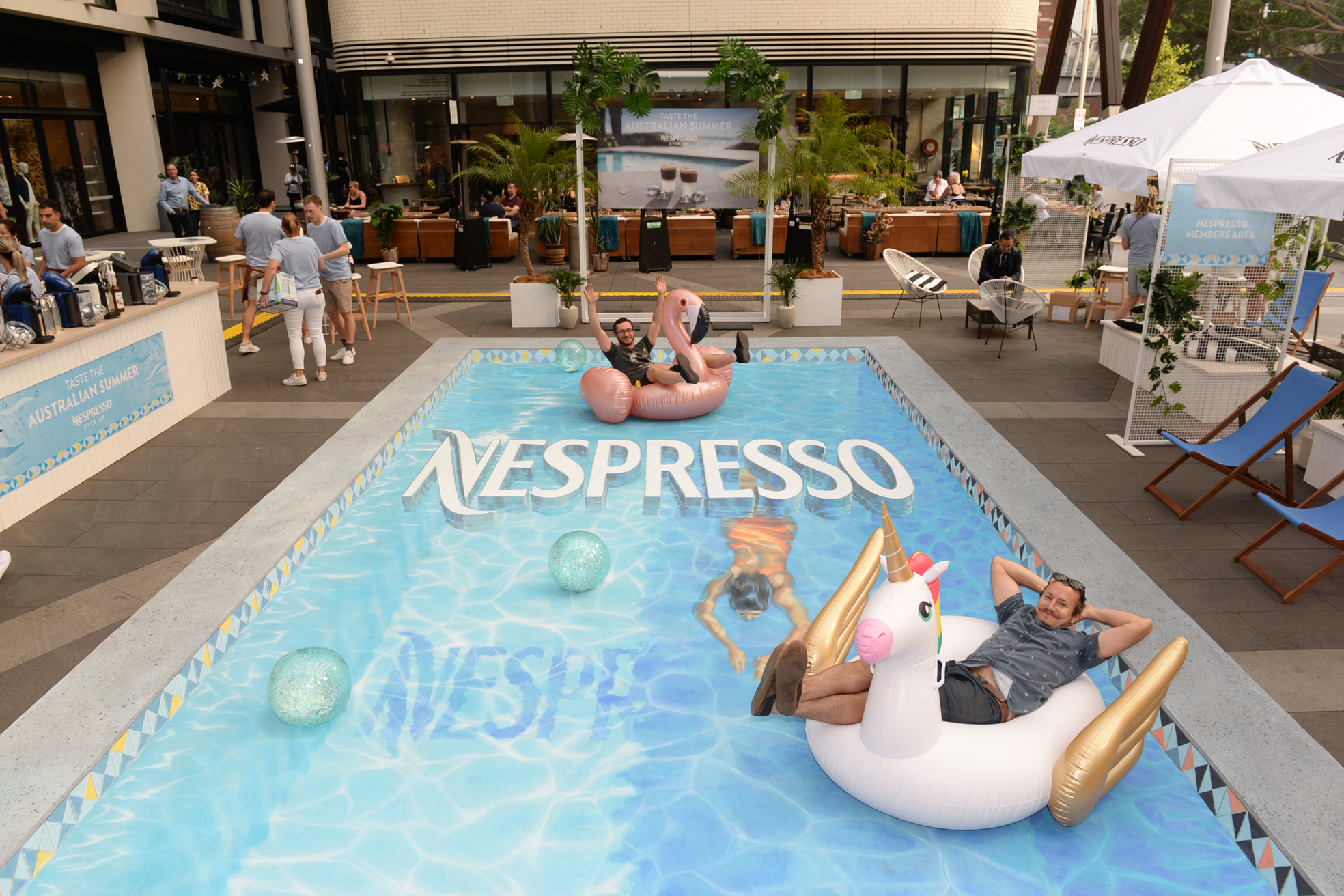 Nespresso Activation pop up @ Bangaroo