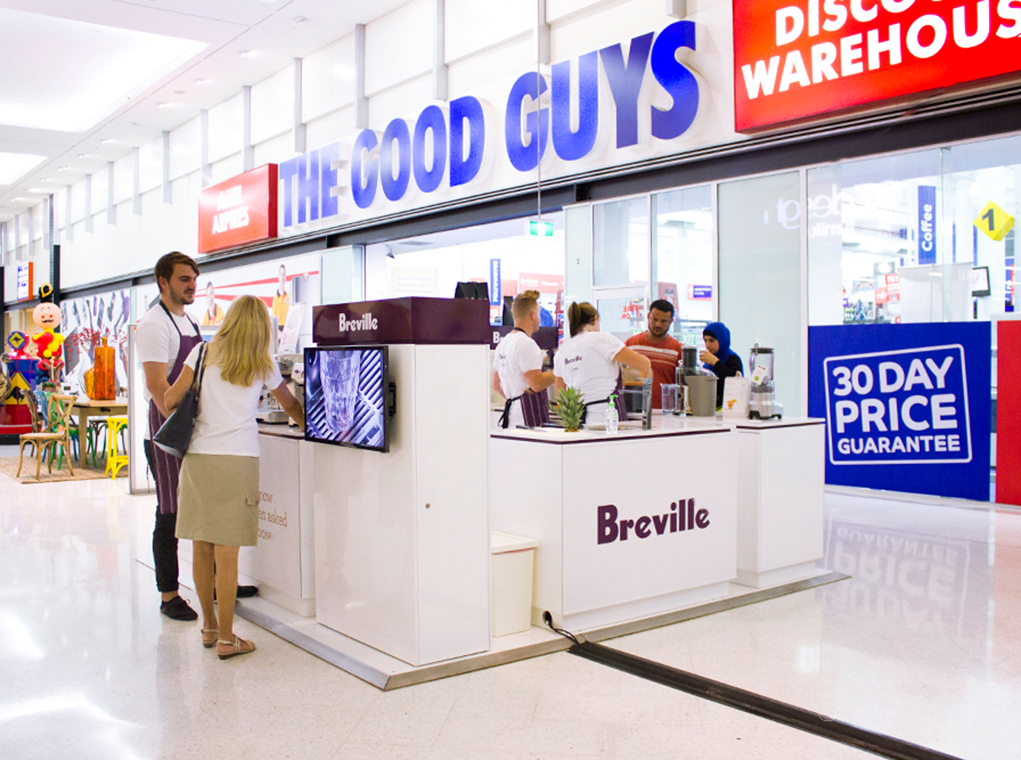 Breville Retail Pop up - Good Guys