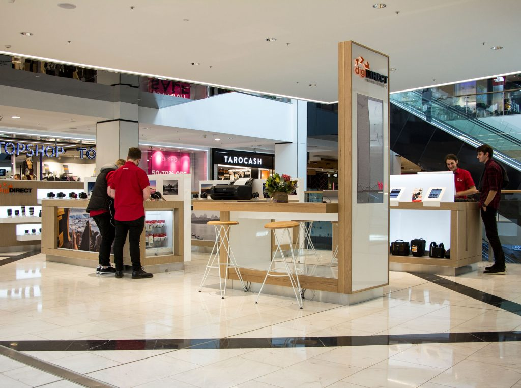 Canon Retail Pop up Kiosk - Westfield