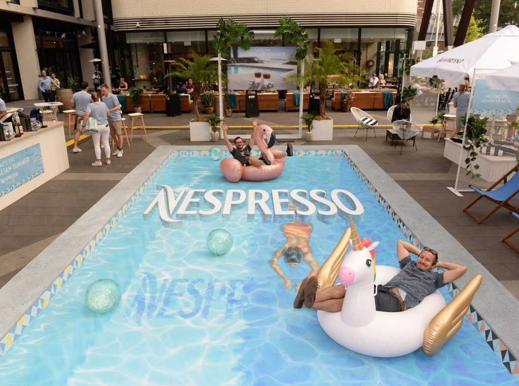 Brand Activation for Nespresso