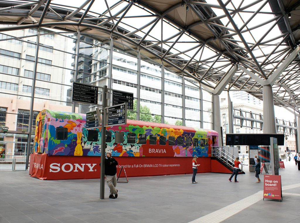 Brand Activation for Sony